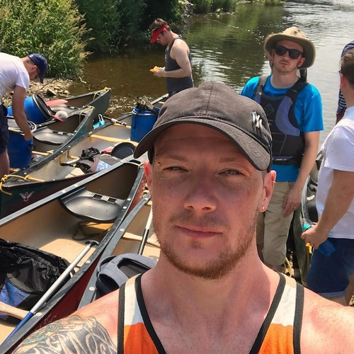 Today is all about...a day of canoeing