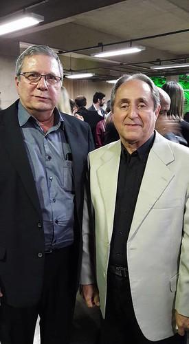 O vice-presidente da FIEMG V.A, Flaviano Gaggiato e Luis Campelo