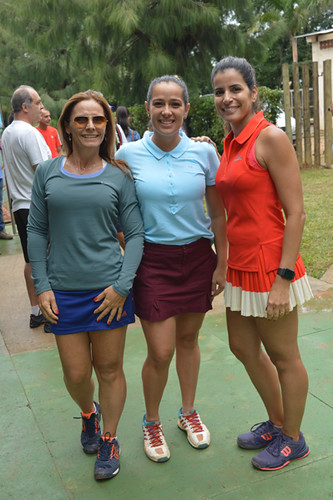 Virginia Drumond, Juliana Ferreira e Clarissa Silveira