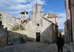 Marco Polo Church and Tower in Korcula