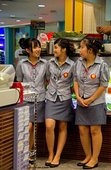 """Waitresses in Bangkok • <a style=""""font-size:0.8em;"""" href=""""http://www.flickr.com/photos/23163398@N00/35113665516/"""" target=""""_blank"""">View on Flickr</a>"""