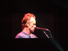 Sting in concert in Guadalajara.