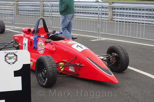 Ross Martin in the Formula Ford FF1600 championship at Kirkistown, June 2017