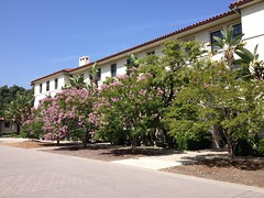 Building on Pomona College Campus