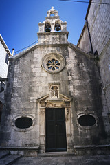 Church Sveti Mihovil in Korcula