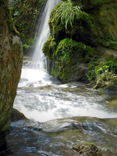 Waterfall Stream Summer Alps/ Vízesés Patak Nyár Alpok