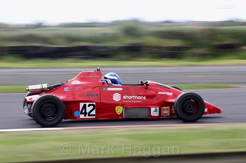 Mark de Rozarieux in the Formula Ford FF1600 championship at Kirkistown, June 2017