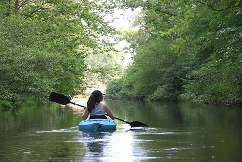Kayaking fairy stone state park-personal by vastateparksstaff, on Flickr