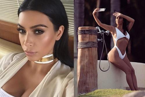 Kim Kardashian tem até led a seu favor