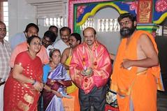 A Longest Duration Audio DVD SRI GURUSAMHITAA, Sung By Chinmaya M.Rao Releasing Event Photos (112)