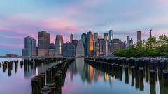 Brooklyn Bridge Park at sunrise