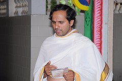 A Longest Duration Audio DVD SRI GURUSAMHITAA, Sung By Chinmaya M.Rao Releasing Event Photos (83)