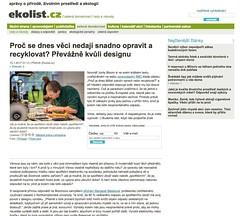 Snapshot Proč se dnes věci nedají snadno opravit a recyklovat? Převážně kvůli designu - Ekolist.cz sz6i4