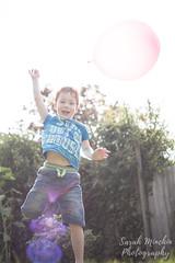 Boy and balloon