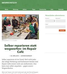 Snapshot Selber reparieren statt wegwerfen- im Repair Café › naturschutz.ch 9clw6