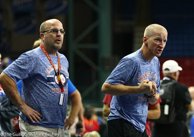 Coaches Chuck Jacobs and Chad Stilson - 170717dmk0012