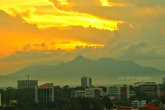 Kuching city view
