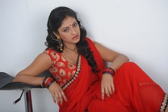 Actress Haripriya Hot Saree Photos in ACAM Telugu Movie