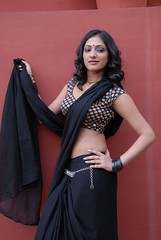 Actress Haripriya Hot Saree Photos in ACAM Telugu Movie