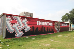 Graffiti Wall Houston, Texas July 24, 2017