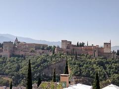 Alhambra from the Miradore de San Nicolas