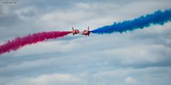 RAF Red Arrows - RIAT 2017