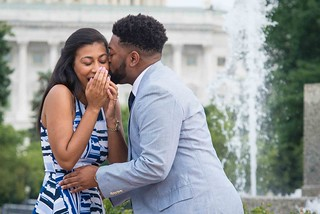 Tim + Jessica | Washington, D.C. Surprise Engagement