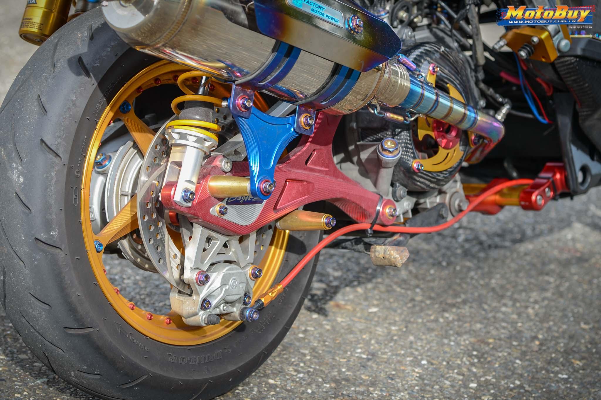 [夯車分享] 我是鋼鐵人 - YAMAHA BWSX 125   MotoBuy