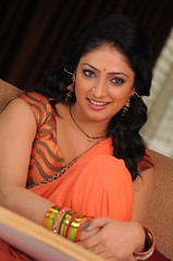 Actress Haripriya Saree Hot Photos in ACAM Telugu Movie