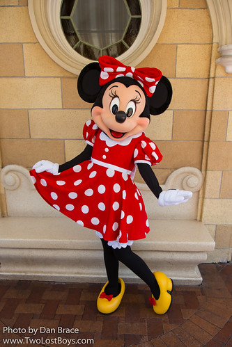 minnie mouse at disney