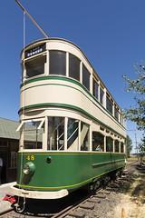 Double-decker trolley