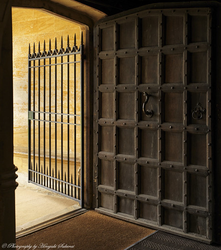 House Entrance; Montacute House / National Trust