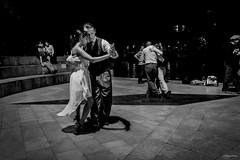 Danseurs sur les bords de Seine
