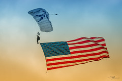 Wings of Blue & Old Glory