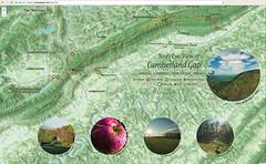 Bird's eye view of Cumberland Gap