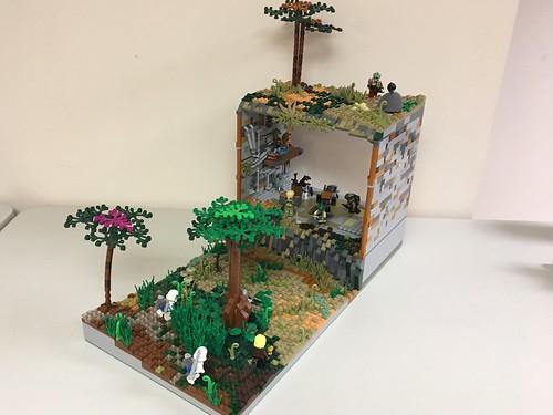 Lego Star Wars Mini Moc Hangar On Pantora A Photo On