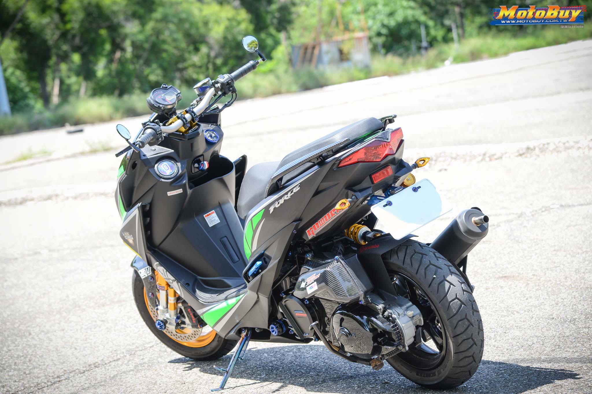 [夯車分享] 特仕質感風 - YAMAHA FORCE 155   MotoBuy