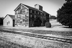 Barrons Flour Mill, Oakesdale, Washington