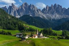 Val di Funes, tirol , italia, dolomites