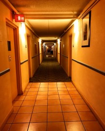 Empty Hallway Alone