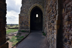 Reculver towers (Reculver Abbey ruins)