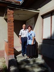 Eugen Dorcescu şi Mirela-Ioana Borchin la Casa românească din Uzdin