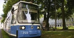 """Die Straßenbahn. Die Straßenbahnen. Auch: Die Tram. Eine Tram fährt auf Schienen durch die Stadt. • <a style=""""font-size:0.8em;"""" href=""""http://www.flickr.com/photos/42554185@N00/35886516974/"""" target=""""_blank"""">View on Flickr</a>"""