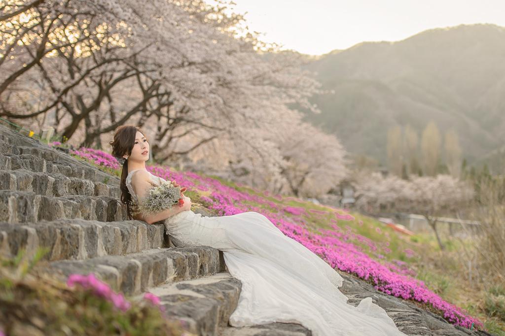 婚攝小勇,小寶團隊, Niniko, 自助婚紗, 海外婚紗,河口湖,櫻花,富士山-010
