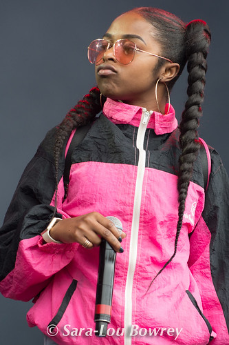 Nadia Rose at Bestival 2017