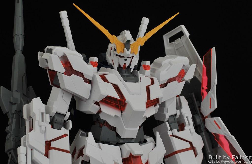 Bandai 1 48 Mega Size Unicorn Gundam Review Otaku