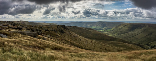 Kinder and The Great Ridge, The Peak District.