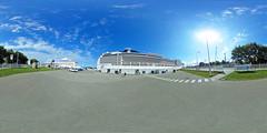 Hanse Sail 2017 - MSC Magnifica 360 Grad