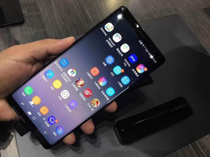 三星Galaxy Note 8國行版發布:今年的安卓機皇正式進入國內
