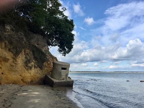 Type 25 pillbox Redend Point Studland